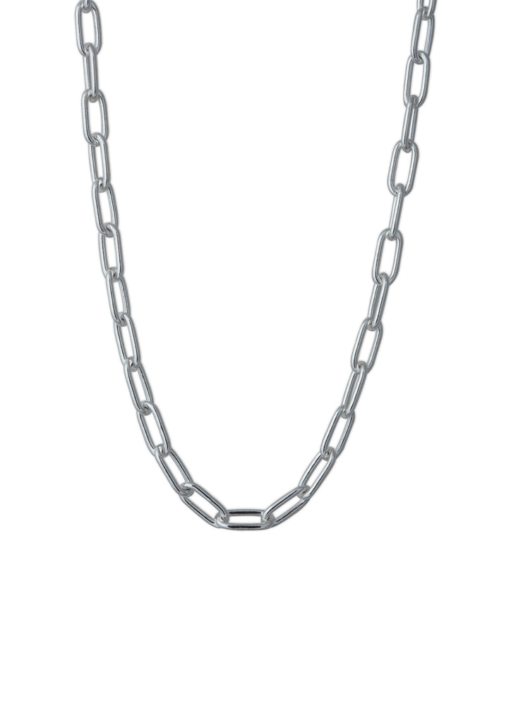 Chunky Chain Necklace Silver