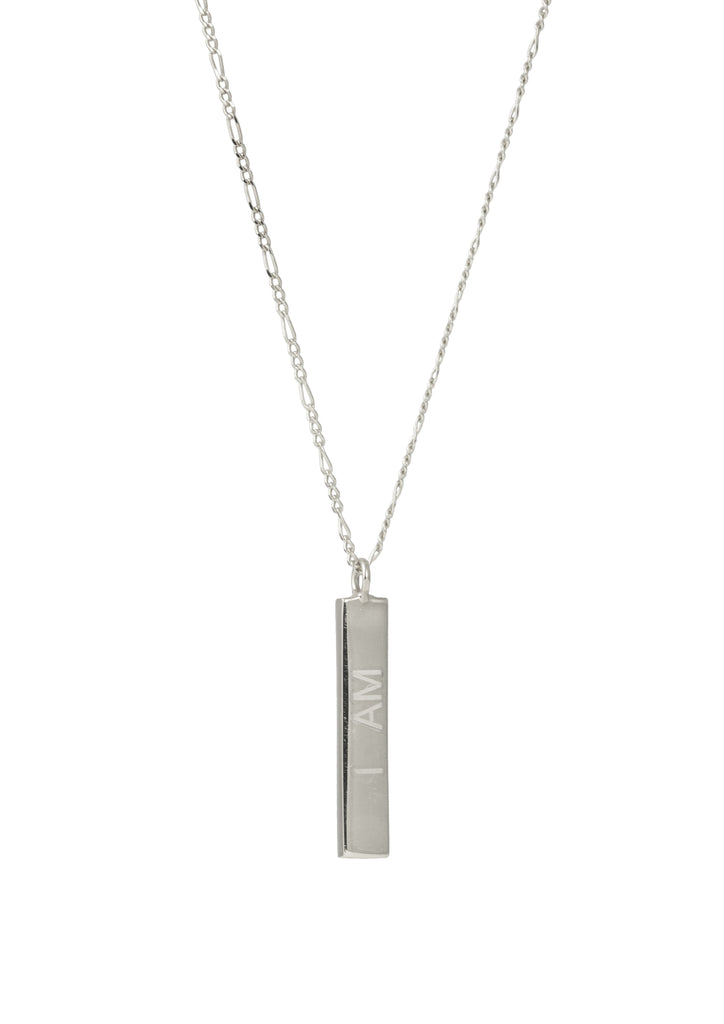 Girlpower Necklace Silver front