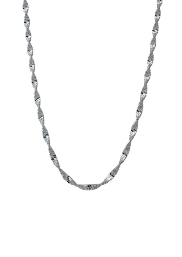 Jane Necklace Silver