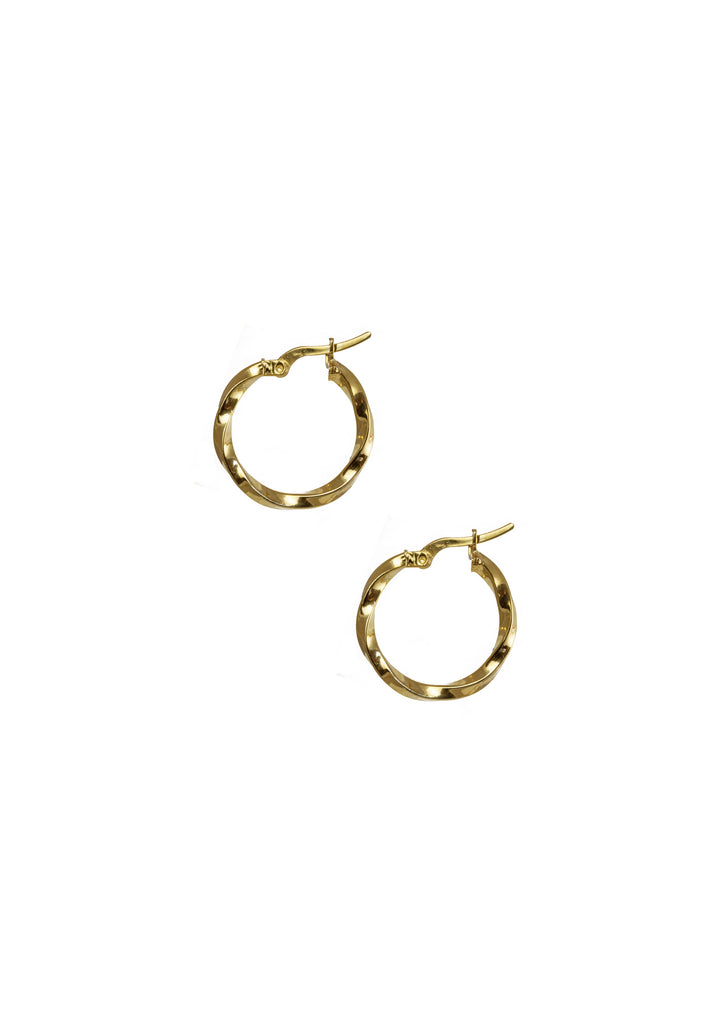 Megan Earrings Gold