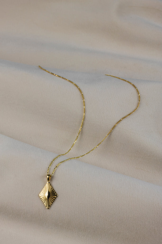 Sunray Gold Necklace