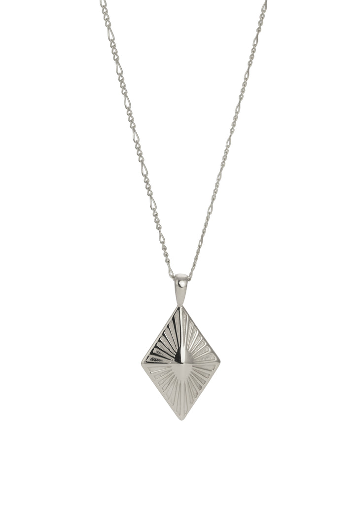 Sunray Necklace Silver