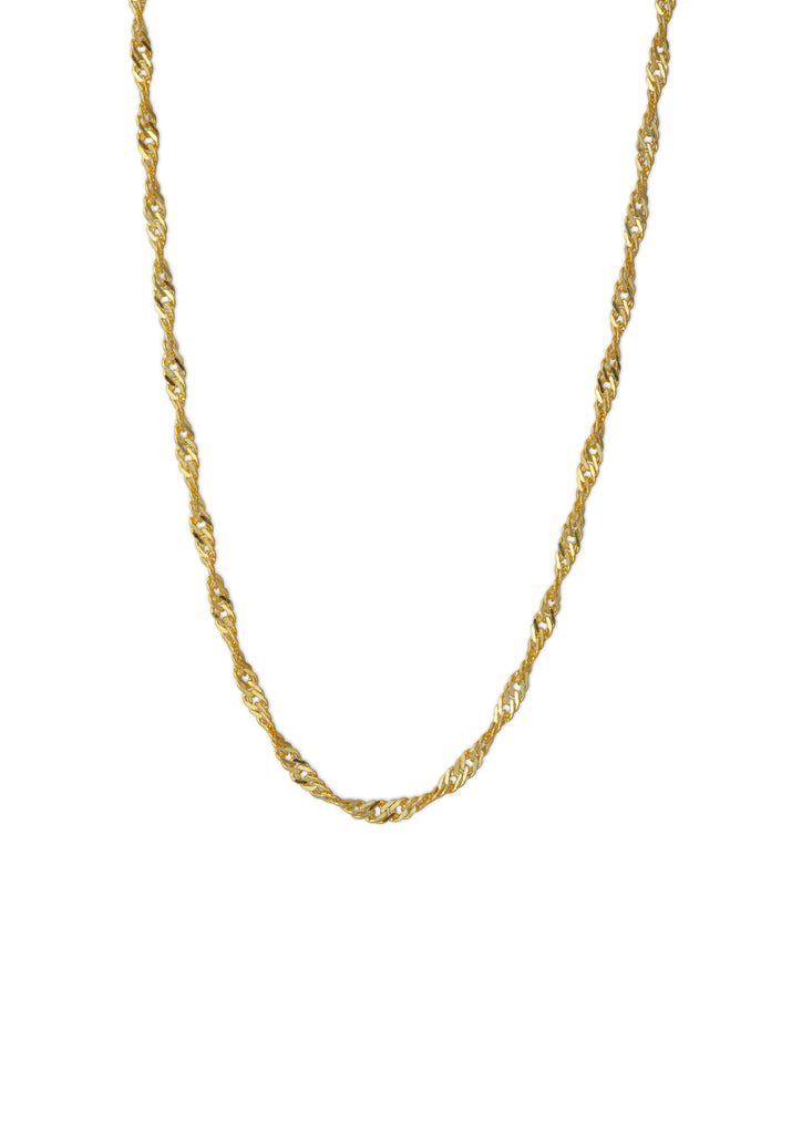 The Wanderer Necklace Gold