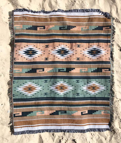 Salty Aura Rug with Encampment