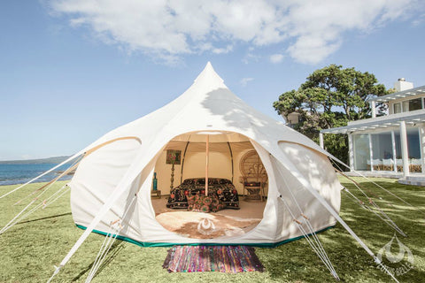 Lotus Belle Tents with Encampment