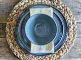 wheelthrown 3 piece place setting