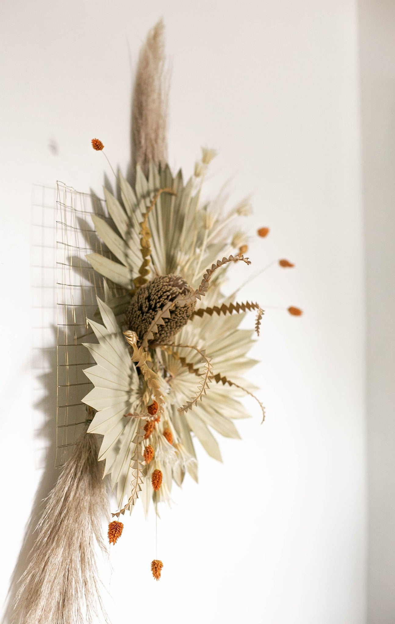 Spring Flower Fête | Dried Flower Wall Hanging - Heroine Flowers