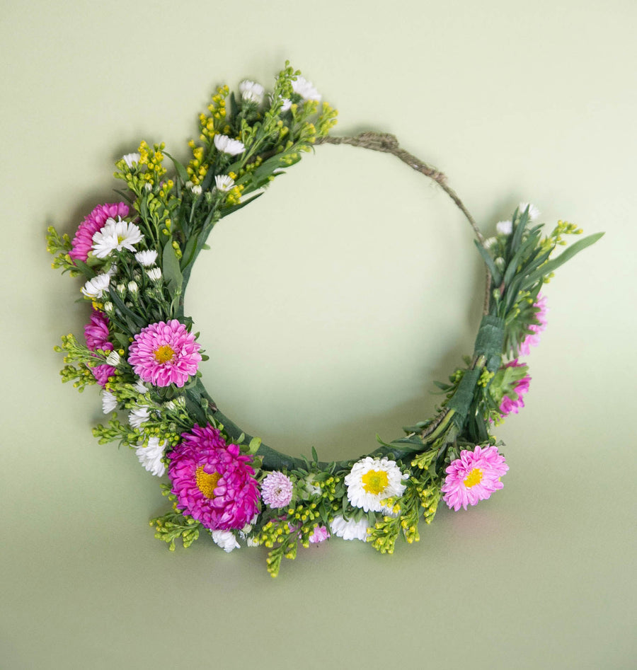 DIY Seasonal Flower Crown | Flower Party - Heroine Flowers