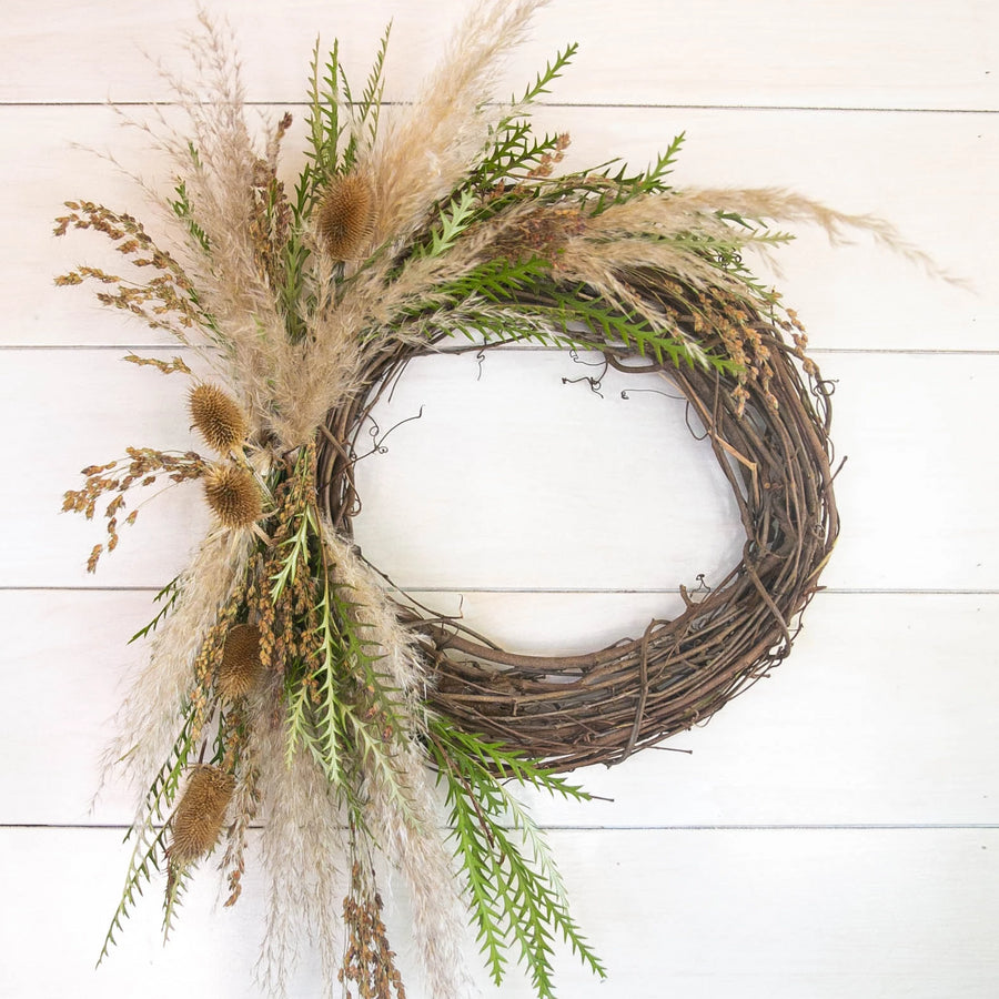 DIY Seasonal Wreath | Flower Party - Heroine Flowers