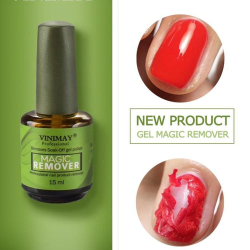 Nail Gel Magic Remover