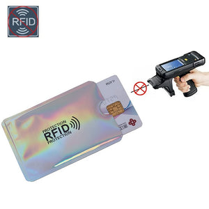 Credit Card RFID Aluminum Wallet Slip Protection