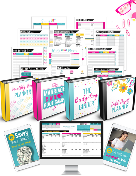 Financial Freedom Fast Track {5 Digital Planners + 2 Ebooks}