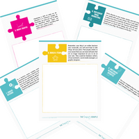 Solving The Puzzle to a Profitable Blog Workbook ~Printable & Digital~