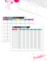 Budgeting Binder {80 Pages Digital Download}
