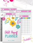 Debt Payoff Planner {20+ Page Digital Download}}