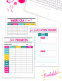 Debt Payoff Planner {20+ Pages}