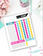 Weekly Chore Chart for Children of All Ages {Digital Download}