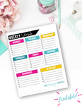 Weekly Blogging Schedule {Digital Download}