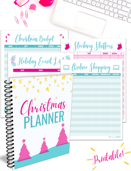 Christmas Planner {40+ Pages Digital Download}