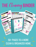 The Ultimate Cleaning Binder {50+ Page Digital Download}