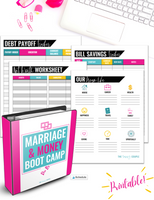 Marriage and Money Boot Camp & Workbook {75+ Page Digital Download}