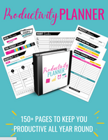 Productivity Planner {170+ Page Digital Download}