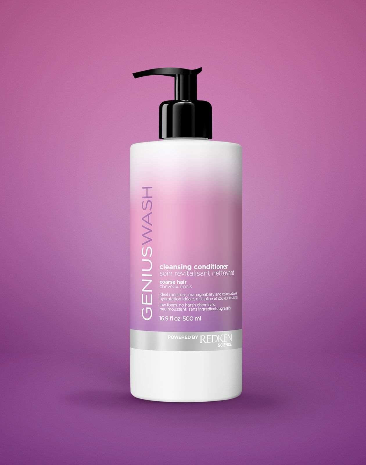 Genius Wash Cleansing Conditioner Unruly - Michele Barnett Salon