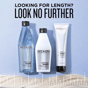 Redken Extreme Length Leave In Treatment with biotin to protect hair from split ends, infuse with biotin to keep hair strong, healthy, and help hair grow fast. MB Salon ShopMBSalon.com