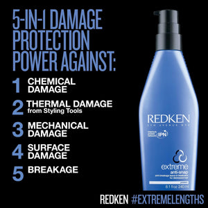 Redken Extreme Anti-Snap blonde hair care ShopMBSalon.com