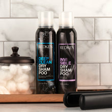 Load image into Gallery viewer, Redken Invisible Dry Shampoo clear for dark hair ShopMBSalon.com