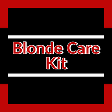 Load image into Gallery viewer, Blonde hair care silver blonde natural gray care kit Redken blondes ShopMBSalon.com