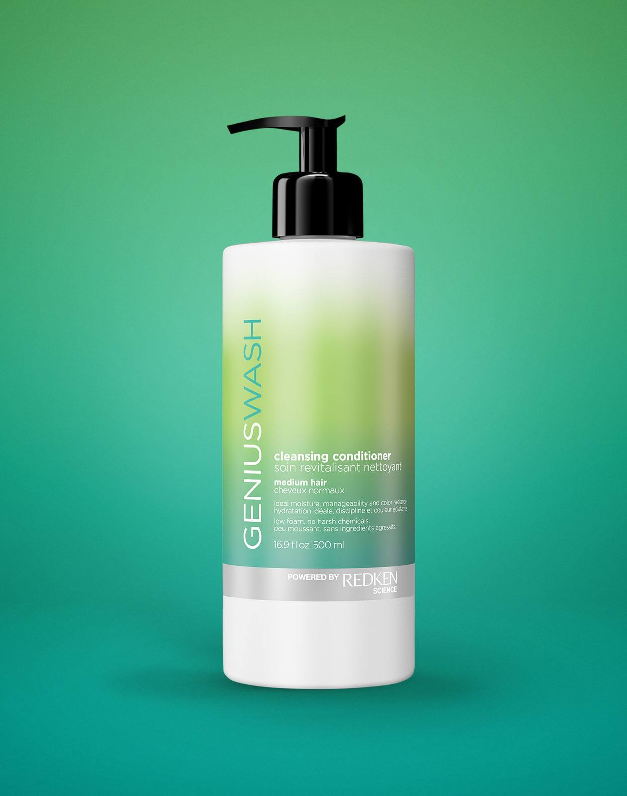 Genius Wash Cleansing Conditioner Medium - Michele Barnett Salon