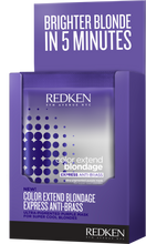 Load image into Gallery viewer, Redken Color Extend Blondage Express Anti-Brass One-Time Use Packett Mask MB Salon ShopMBSalon.com