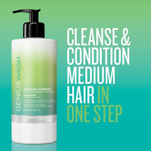 Genius Wash Cleansing Conditioner Medium