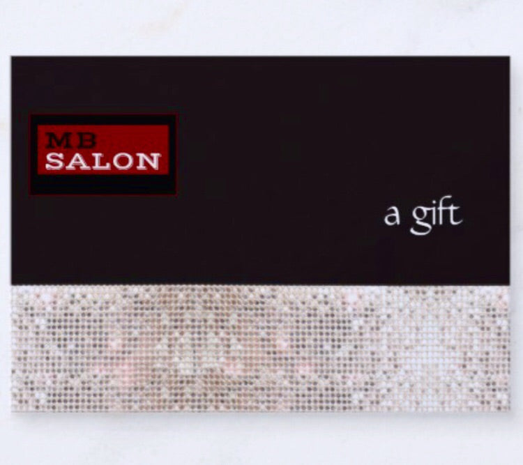 $50 Gift Certificate - Michele Barnett Salon Give the gift of beauty with this gift certificate!