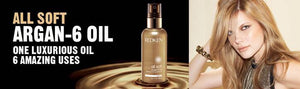 Redken All Soft Argan 6 Oil Natural multi use oil for dry hair ShopMBSalon.com