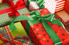 Load image into Gallery viewer, Red and Green Themed Gift Wrapping
