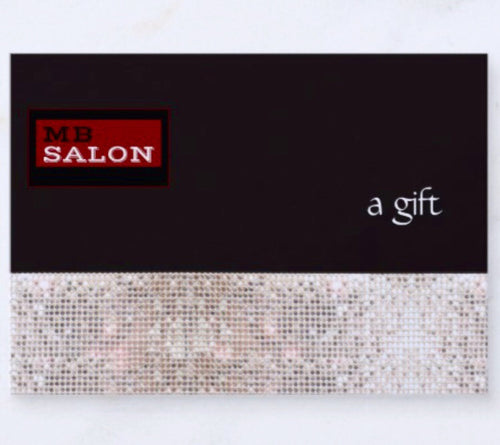 $75 Gift Certificate - Michele Barnett Salon Give the gift of beauty with this gift certificate!!