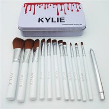 Load image into Gallery viewer, Kylie 12 Piece Make-Up Brush Set