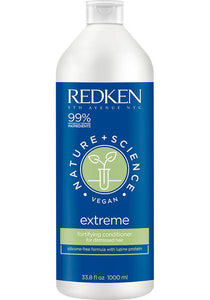 Nature + Science Extreme Conditioner Liter Size Redken ShopMBSalon.com