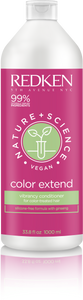 Nature + Science Color Extend Shampoo Liter Size Redken ShopMBSalon.com