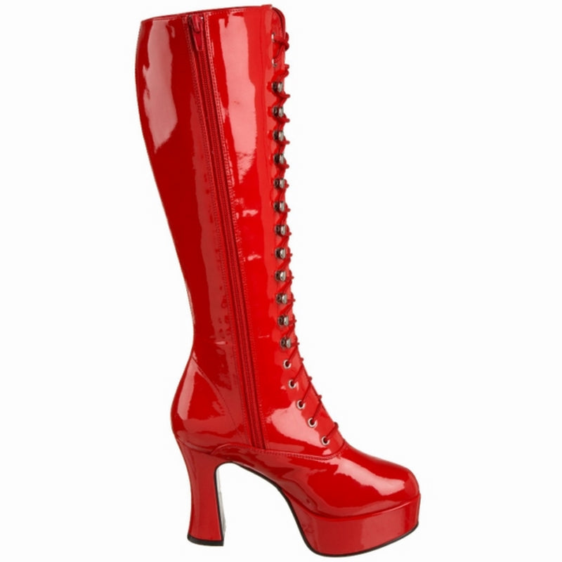 Red Costume Cosplay Halloween Knee High Boots FUNTASMA Exotica-2020 Series