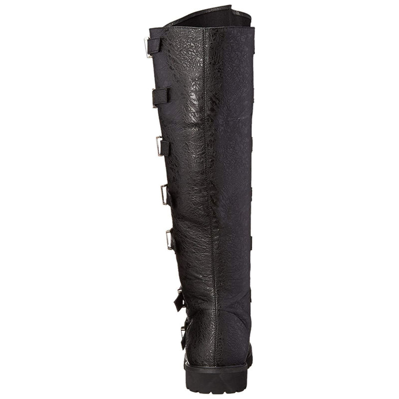Black Knee High Boots Mens Warrior Renaissance Medieval FUNTASMA GOTHAM-110