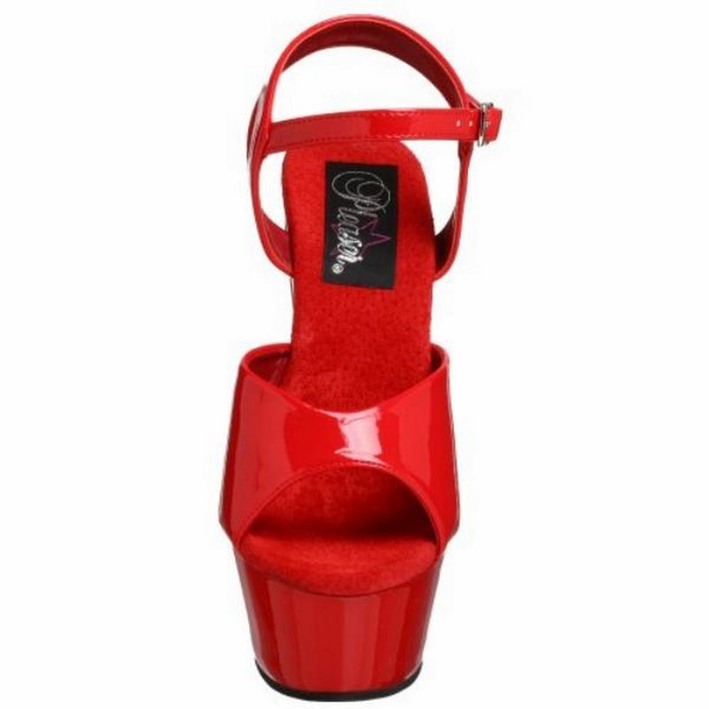 Red Patent Sandals High Heels Platform Exotic Sexy Stripper Pole Dancer Shoes