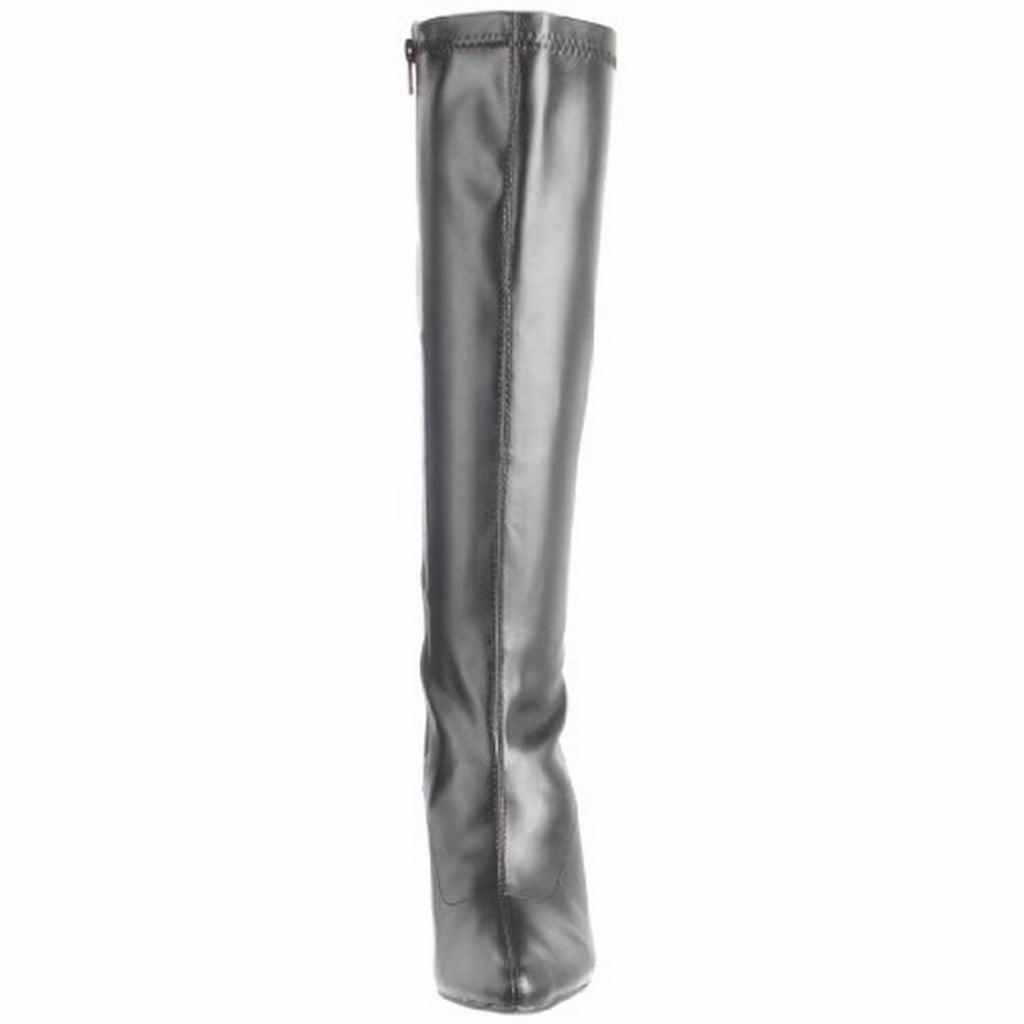 Black High Heel Stiletto Knee High Boots Exotic Dancing Clubwear Pleaser