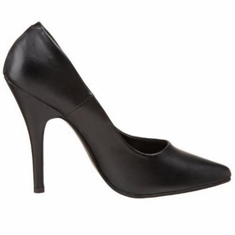 Black Matte Womens Classic Pumps Shoes Evening Bridal Prom Stiletto High Heels