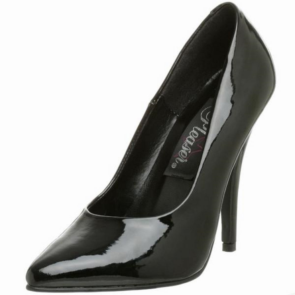 Black Patent Womens Classic Pumps Shoes Evening Bridal Prom Stiletto High Heels