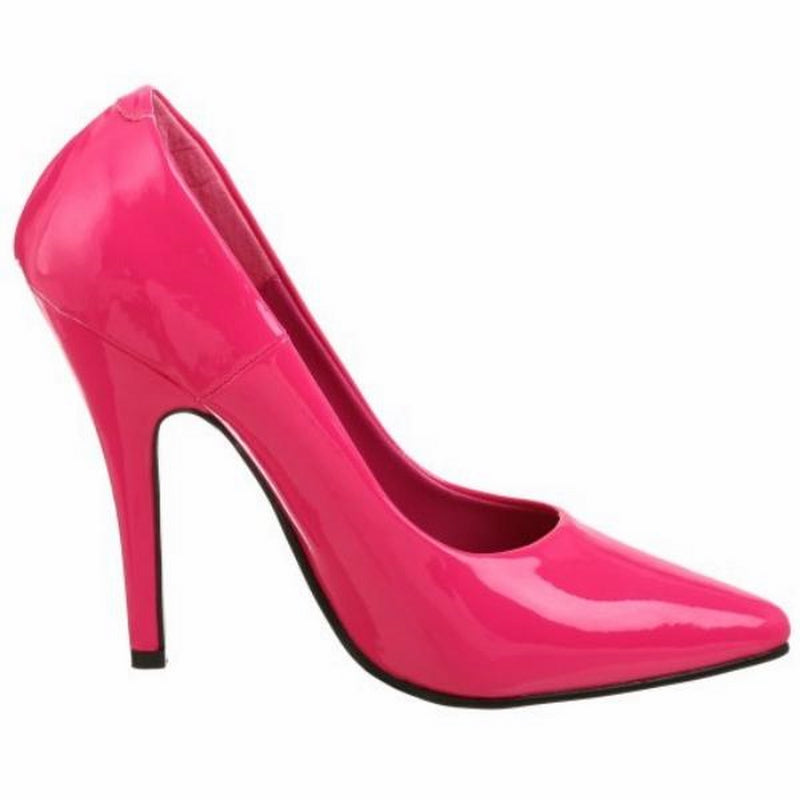 Hot Pink Patent Classic Pumps Shoes Evening Bridal Prom Stiletto High Heels