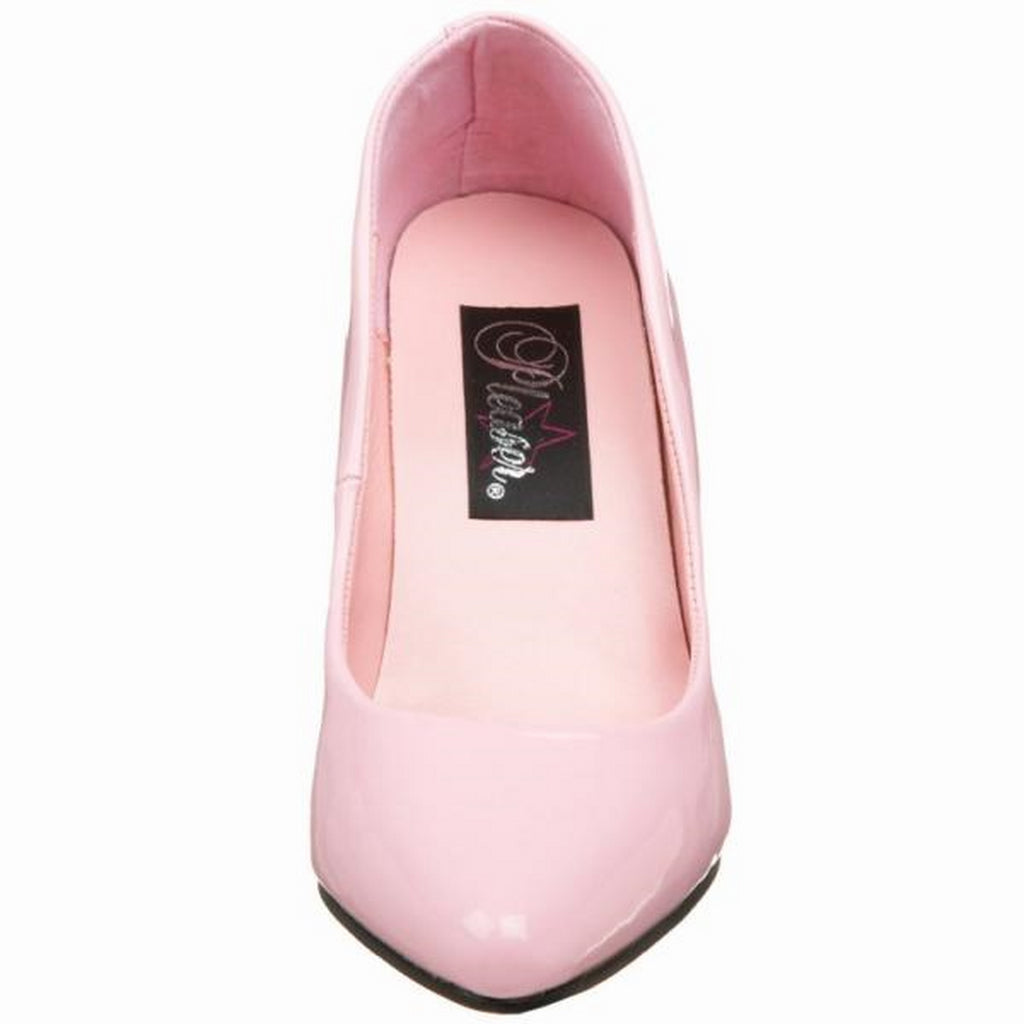Baby Pink High Heel Pointed Toe Vanity Classic Pumps Womens Formal Stiletto