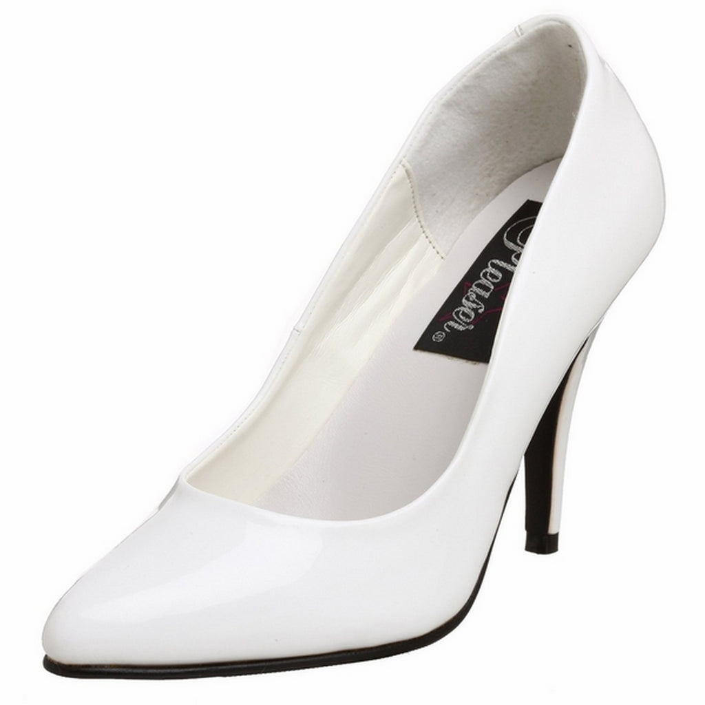 White High Heel Pointed Toe Vanity Classic Pumps Womens Formal Stiletto Shoes